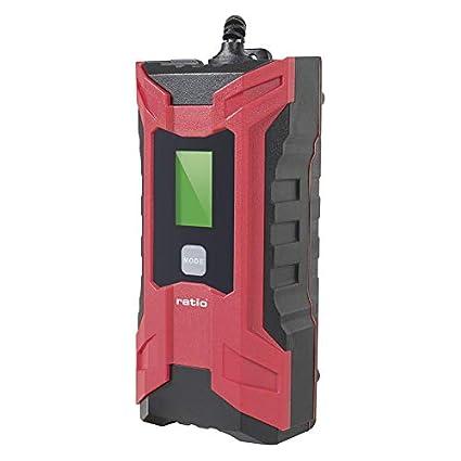 CARGADOR BATERIA 6V/12V LED DIGITAL RATIO: Amazon.es: Hogar