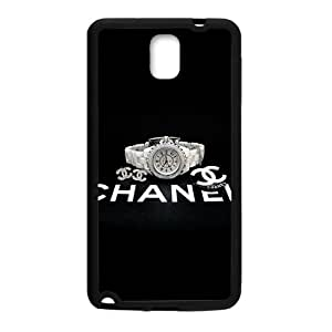 Famous brand logo Chanel watch design fashion cell phone case for samsung galaxy note3