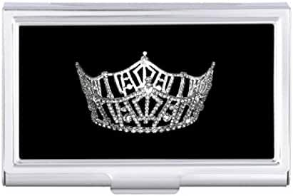 -Pageant Crown Card Holder