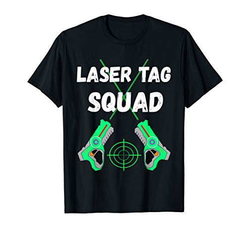 Laser Tag Squad Indoor Lasertag Team Laser Tag Player Shirt