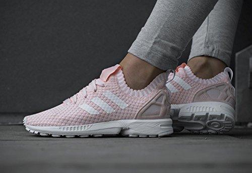Adidas White Rosé Primeknit W Zx Flux Halo Pink zvvrAg6Y