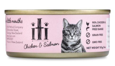 ITI Cans Chicken & Salmon for Cats