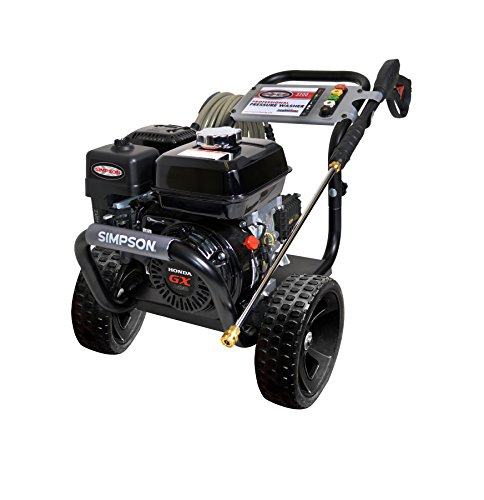 Simpson Cleaning Ps3228 S 3300 Psi At 2 5 Gpm Gas Pressure Washer Powered By Honda With Aaa Triplex Pump