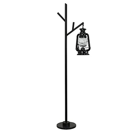 Lámpara de pie Lámpara de pie Lámpara de queroseno con luz ...