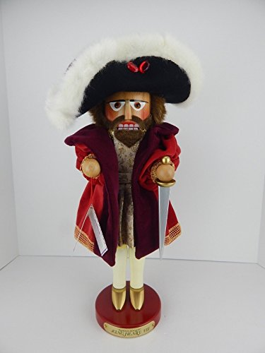 Steinbach Signed LE King Henry VIII of England German Christmas Nutcracker New (Steinbach Signed Kings)