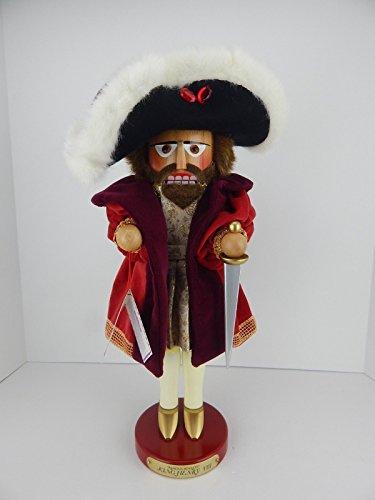 (Steinbach Signed LE King Henry VIII of England German Christmas Nutcracker New)