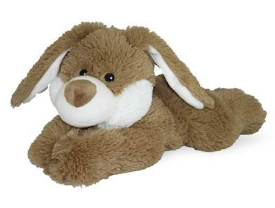 (Brown Bunny - WARMIES Cozy Plush Heatable Lavender Scented Stuffed)