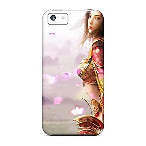 High Grade Anglams Flexible Tpu Case For Iphone 5c - Legend Of Mir