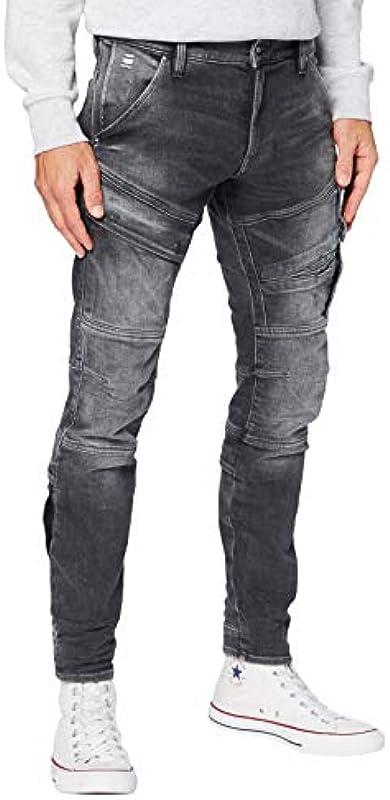 G-STAR RAW Męskie dżinsy Airblaze 3D Skinny: Odzież