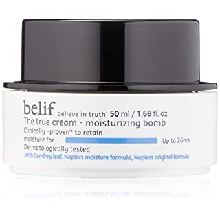 | belif The True Cream Moisturizing Bomb | Moisturizer for Dry Skin | Face Cream, Hydration, Clean Beauty