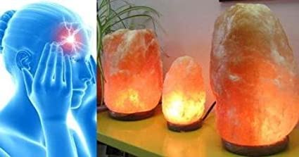 Natural Pink Himalayan Crystal Rock Salt Lamp 100/% Authentic Finest Quality Crystals with CE Certified Standard Electric Plug and Bulb Pack of 1, 5-7 Kg Lamp
