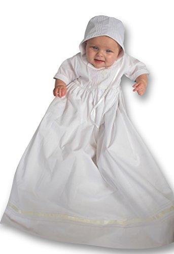 Strasburg Children Babies Alex Christening Gown Baptism Dress Infant White Cross (6 Month) ()