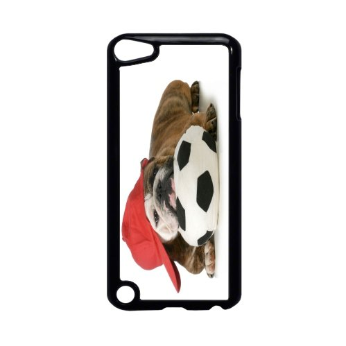 - Rikki Knight English Bulldog Puppy Sports Design iPod Touch Black Hard Shell Case for The 5th Generation