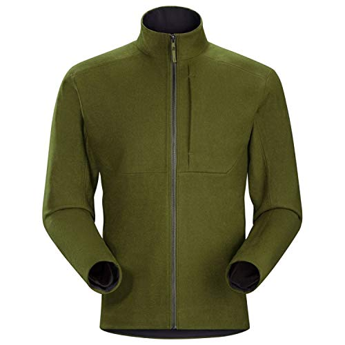 (Arcteryx Diplomat Jacket - Men's Dark Moss Large)