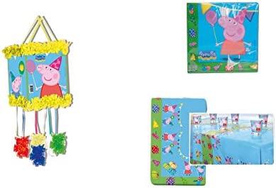 Peppa Pig 1121, Pack decoración Fiesta y cumpleaños ...