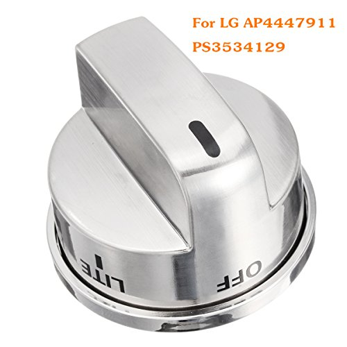 Transport-Accessories - Kitchen Gas Stove Range Burner Knob Control Switch Nickle Burshed for LG AP4447911 PS3534129