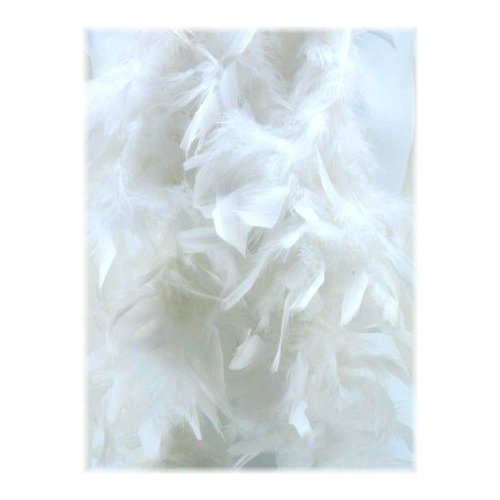White Feathered Boa -