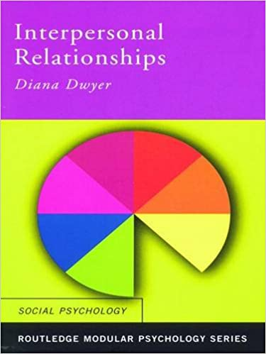 Book Interpersonal Relationships (Routledge Modular Psychology)