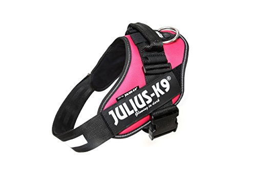 Julius-K9 16IDC-DPN-1 IDC Power Harness, Size: 1 (63-85cm/26-33.5''), Dark Pink by Julius-K9 (Image #1)