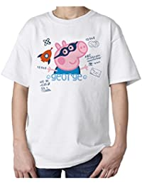George Doodle Official Kids T-Shirt (White)