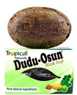 DUDU OSUN Black Soap 150 g African Soap Shea moisture Noir Honey Cocoa Aloe (8 PACK)