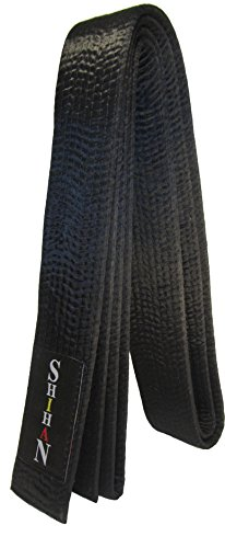 KARATE, Black Belt -MASTER-Silk/Satin -330cm (Plain)
