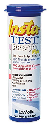 LaMotte Insta-Test Pro 400 Plus 100- Strips per Bottle(Case of 12) by LaMotte