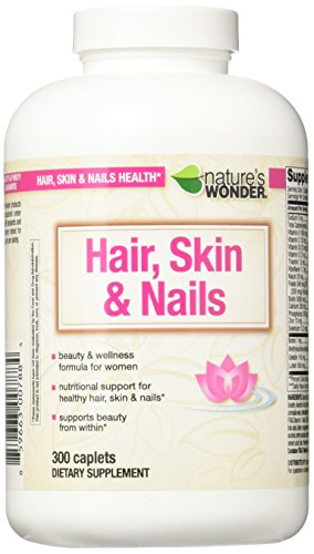 Nature's Wonder Vitamin for Hair/Skin and Nails, 300 Count