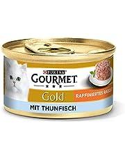 Purina Gourmet guld Raffinerad Ragout kattfoder vått, olika sorter, 12-pack (12 x 85 g)