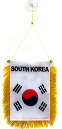 South Korea Flag Car Window Hanging (Devon Hanging)