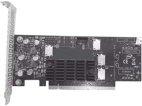 Intel Accessory AXXP3RTX16040 4Port PCI Express Gen3 x16 Retimer AIC 4X NVMe Drives Retail