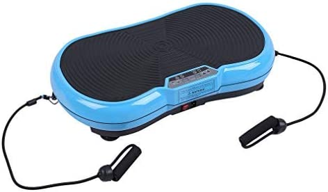 Trainingsb/änder /& LED Screen/& Schutzmatte Blau Hehilark Rutschfest Shaper Vibrationsplatte Vibrationsger/äte Vibration Plate Ganzk/örper Trainingsger/ät inkl