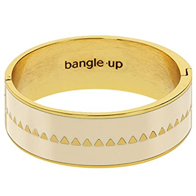 ef3f6f3db72a4 Bangle Up Bollystud Ivory-Coloured Bangle Bracelet: Amazon.co.uk ...