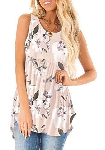 Sousuoty Summer Pleated Printed Sleeveless product image