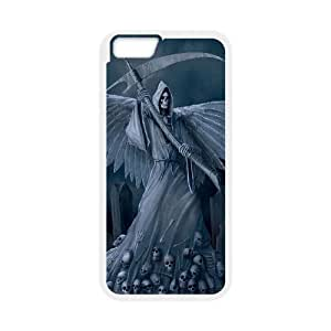 """ALICASE Diy Hard Shell Cover Case Of Grim Reaper for iPhone 6 Plus (5.5"""") [Pattern-1]"""