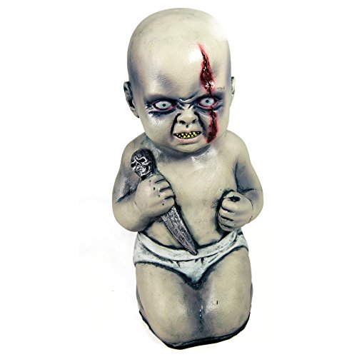 Forum Novelties Evil Baby with Dagger Halloween Prop Decoration ()