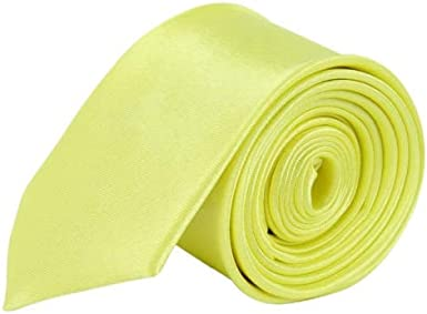 Boys Formal Ties Fine Satin Shine Smart Fromal Neck Tie For Boys Boys Plain Tie Various Colours.