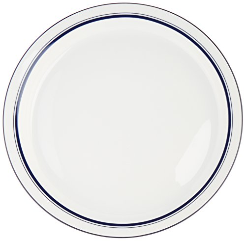 Bistro Christianshavn Blue 10.25 Dinner Plate [Set of 4] by (Bistro Dinner Plate)