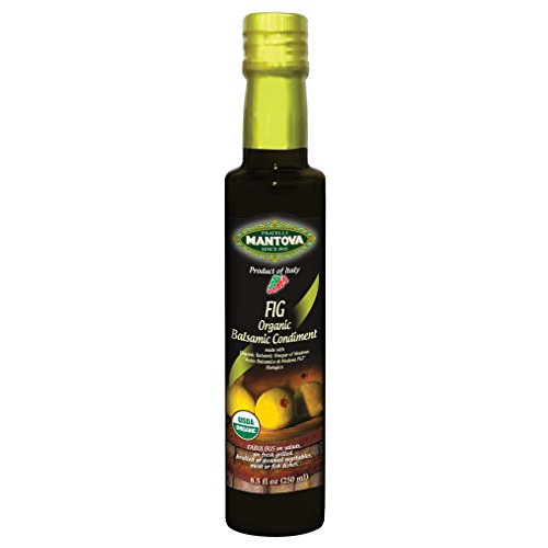 Mantova Fig Organic Balsamic Vinegar, 8.5 Ounces -