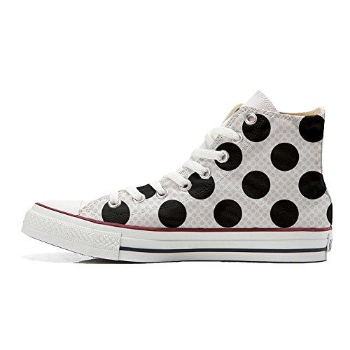 Scarpe Converse All Star personalizzate (scarpe artigianali) a Pois