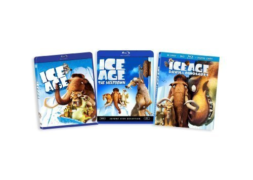 Ice Age Triple Pack (Ice Age / Ice Age: The Meltdown / Ice Age: Dawn of the Dinosaurs) [Blu-ray] by 20th Century Fox