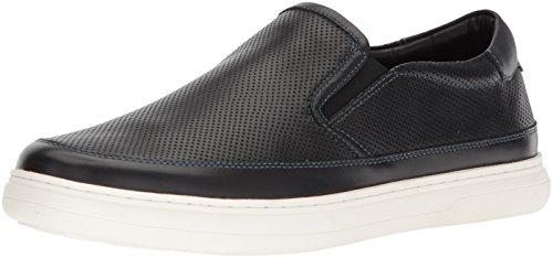Donald J Pliner Men's Corbyn Sneaker, Black, 7.5 Medium US