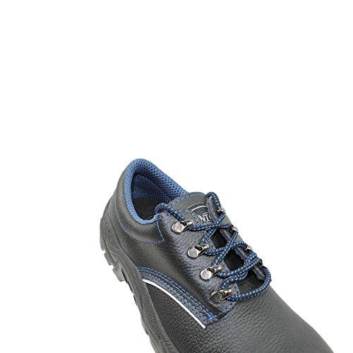MTS Sicherheitsschuhe  BASE Gonzo S3 ÜK 7010M - Zapatos De Seguridad de piel Unisex adulto negro