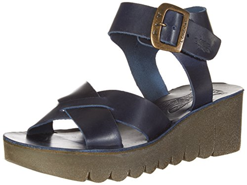 Fly London Kvinners Yeri909fly Kile Sandal Blå Brindle