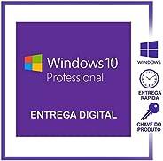 Chave de ativação Windows 10 Pro 32/64 bits