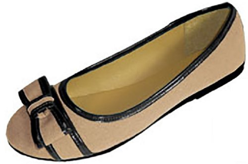 Colors Loafer 4043A 3 Nude Womens Flats Smoking Shoes Canvas Ballet Black TqPw0x