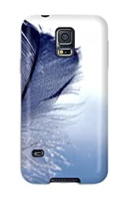SWHske Perfect Tpu Case For Galaxy S5/ Anti-scratch Protector Case (feather)