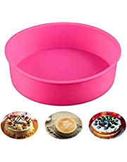 Baking Silicone 9-Inch Round Cake Pan Baking Mold, BPA Free, Non-Stick European-Grade Silicone, 2.28-Inches Deep