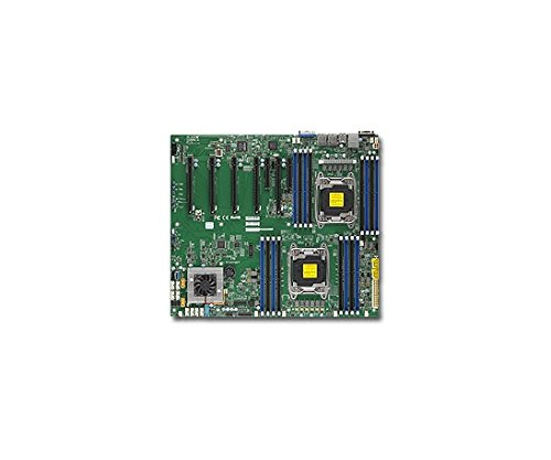 Supermicro Sata Motherboard (Supermicro Motherboard MBD-X10DRG-Q-B Xeon E5-2600v3 LGA2011 DDR4 SATA Brown Box)