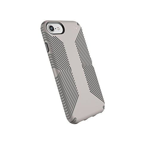 Speck Products Presidio Grip Cell Phone Case For IPhone 8/7/6S/6 - CATHEDRAL GREY/SMOKE GREY - 106289-6922